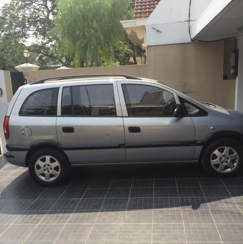 Chevrolet Zafira 2001 grey metalik