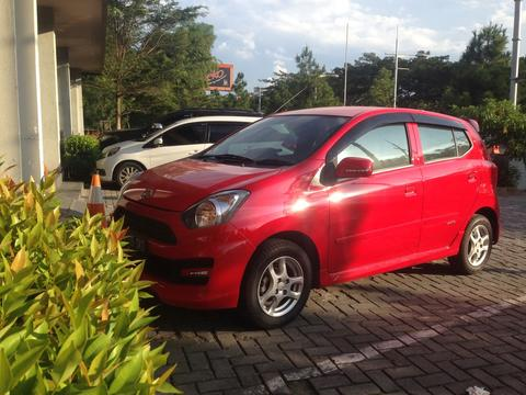 Daihatsu Ayla M Sporty FRESH FROM THE OVEN