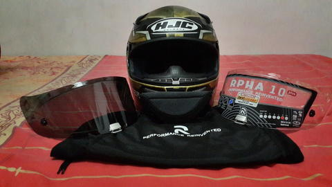 Helm HJC Sparteon Size XL (Not Arai, AGV, Shoei, KBC)