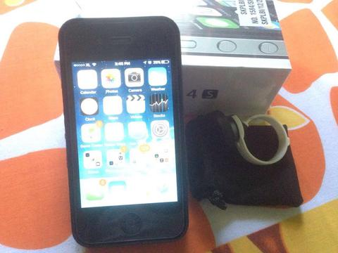 iPhone 4S 64GB (SECOND) + Fisheye Lens MURAH