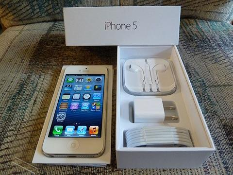 iPhone 5 16GB FU ORIGINAL Mulus Fullset Murah Like New