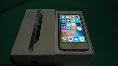 Iphone 5 16gb silver mulus n fullset ex inter