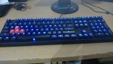 (JUAL) Keyboard Mechanical Ducky Shine 2 DK9008S2 Red Switch!