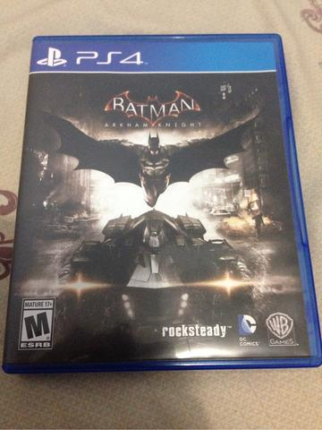 Kaset BD PS4 Batman Arkham Knight DLC Unused