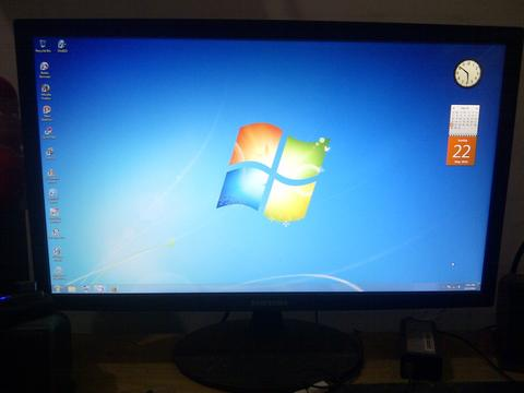 Monitor led samsung ls22c170