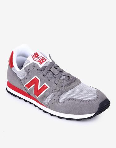 New Balance Original ML373 Men's Casual Sneakers - Abu-abu/Grey-Red (BNIB)