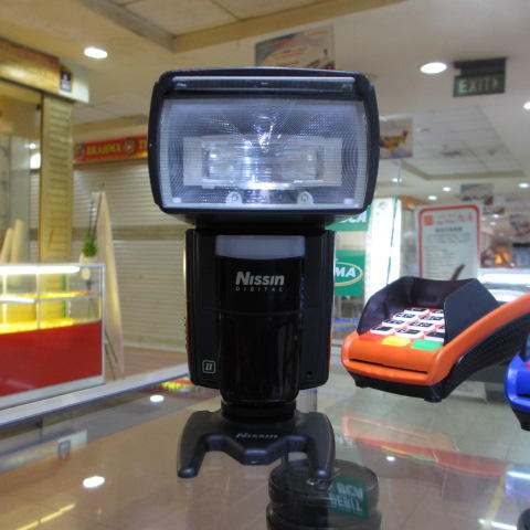 NISSIN FLASH SPEEDLITE Di 866 MARK II FOR CANON - MULUS - MURAH