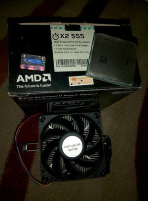 Phenom ii X2 555 Black Edition
