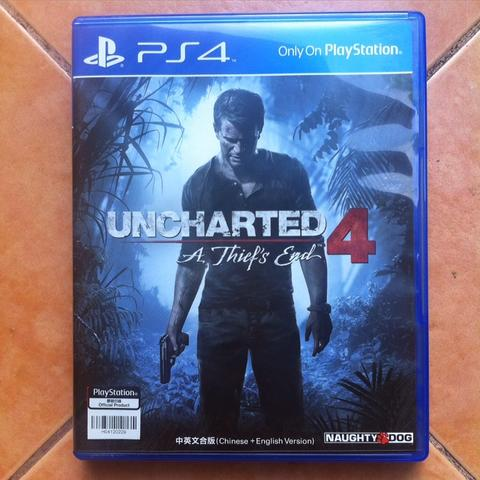 UNCHARTED 4, REG ALL