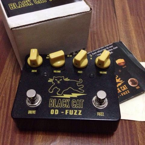 Black Cat OD-Fuzz. efek boutiqe 2 in 1