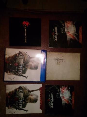BD PS4 SECOND THE WITCHER 3