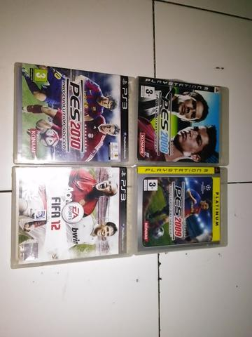 BD PS3 SECOND PES 2008,2009,2010, FIFA 12