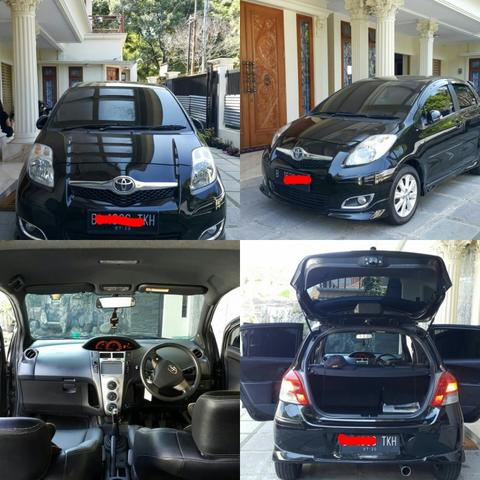 WTS Toyota Yaris Type S Manual Black ellegant 2010 second