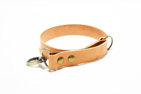"""Musky"" Leather Wrist Camera Strap - Vegetable Tanned 
