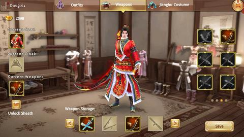 Char Age of Wushu Dynasty Server SEA-S7 Chain Whips