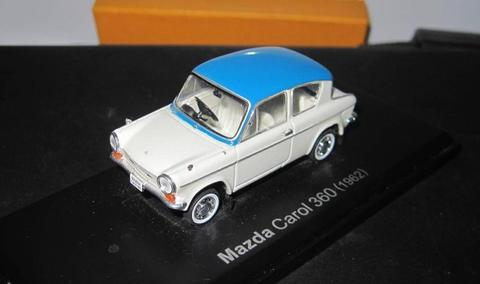 Diecast Mazda Carol 360 Skala 1:43 High Detail Rare Item Classic Car