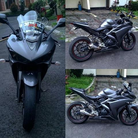 Dijual R25 2015 mint condition modif standard