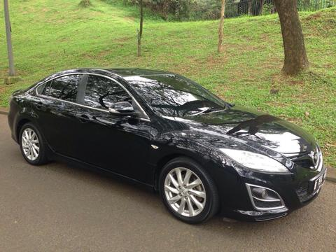 MAZDA 6 2.5 2011 FACELIFT BLACK ON BROWN
