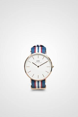 Men Classic Belfast In Rose Gold Buckle Daniel Wellington ORIGINAL