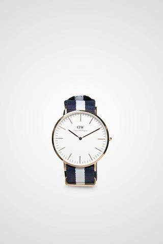 Men Classic Glasgow In Rose Gold Buckle Daniel Wellington ORIGINAL
