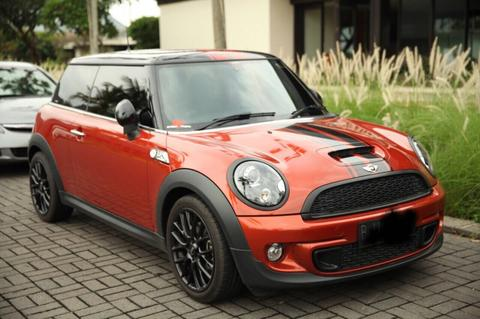 MINI COOPER S TURBO SPICY ORANGE 2012