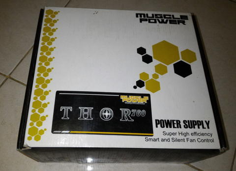 PSU Musle Power THOR 760WATT GOLD FULL MODULAR GARANSI 5TH NEW RMA
