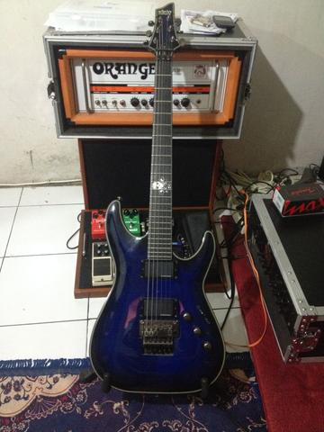 Schecter Guitar Blacjack SLS-FR series (not Gibson, Fender, Ibanez, Esp, etc.)