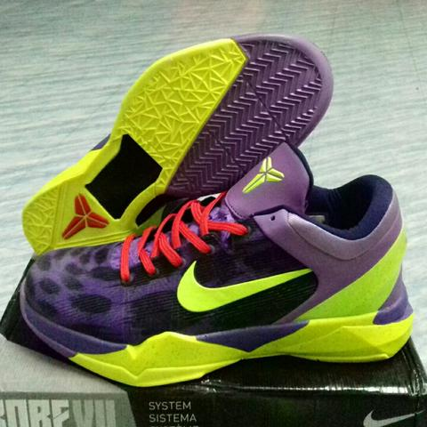 Sepatu basket Kobe 7 Cheetah with ankle support