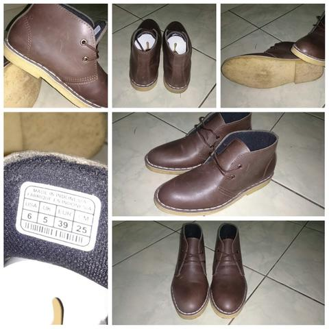 Sepatu shoes kulit asli boots boat sneaker custome