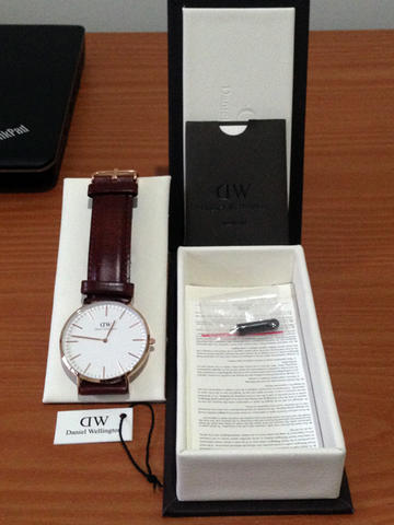 Original Daniel Wellington DW Classic St. Mawes 40mm, Rose Gold