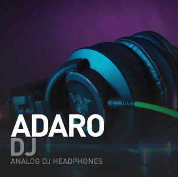 [MVPcomp] Razer Adaro DJ - analog DJ headphone