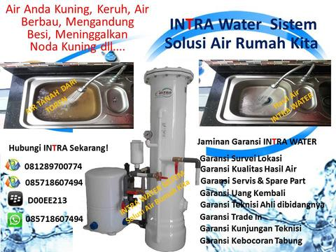 Filter Air Tanah , Filter Air Sumur Bor , Intra Water Solution