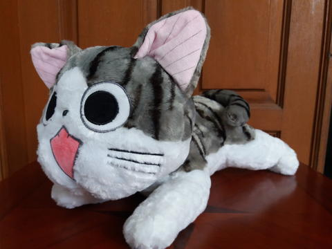 [WTS] Boneka Kucing Furyu Cat Mata Melek Uk 40cm Import