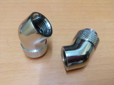 [ BANDUNG ] Rotary Fitting Elbow 45º ► PART WATER COOLING PC