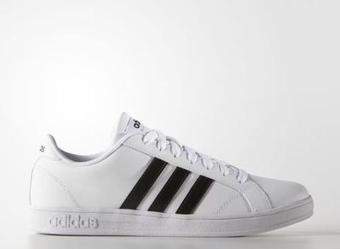 Adidas Neo Baseline Shoes Original - White/Black