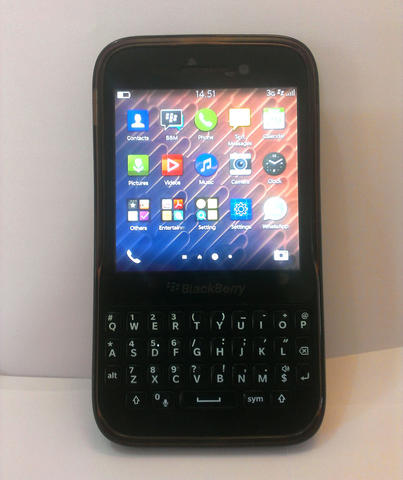 Blackberry Q5 Mulus Black
