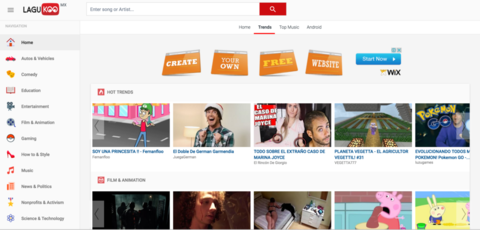 Youtube Clone - Script Grabber php (APK Grabber,Download MP3 & Video)