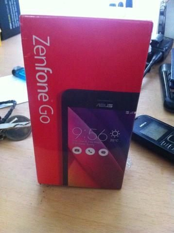 Asus Zenfone Go red