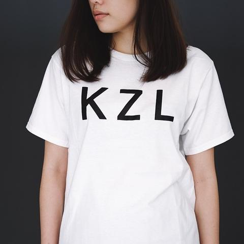 [SALE 25%] KZL Projects Basic Logo White T-Shirt