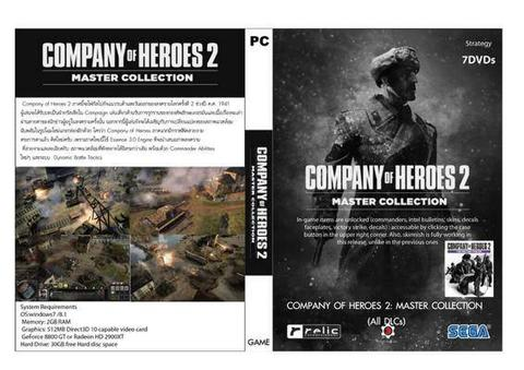Terjual Company Of Heroes 2 Master Collection 10 Dvd Kaskus