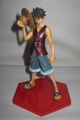 Action Figure PVC DX Lineage D Monkey D. Luffy One Piece Original Banpresto