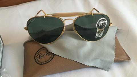 Rayban B&L ODM Gold Frame Like New