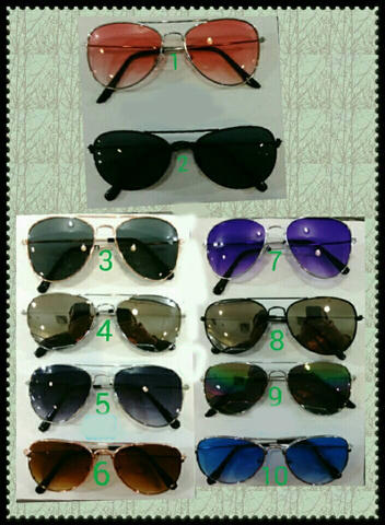 Kacamata anak kid rayban kids rayband aviator full color fashion keren