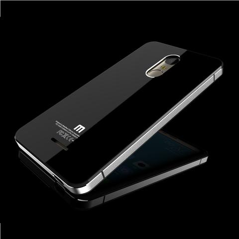 Jual Aluminium Tempered Glass Hard Case Xiaomi Redmi Note 3