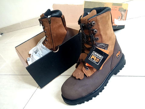 NEW  Sepatu Kulit Leather Shoes Safety Boots TIMBERLAND PRO LACE RIGGER 43 d8505bf782