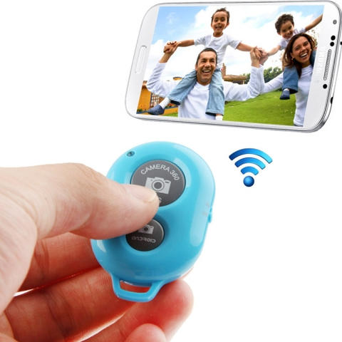 JUAL Tomsis Bluetooth Remote Shutter Android iOS iPhone Tombol Narsis