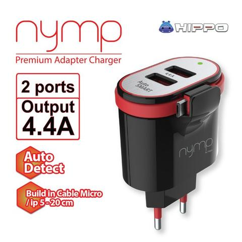 HIPPO NYMP/DYNAMIC CHARGER, TELEPORT/VALLEY FAST CHARGING&KABEL DATA MICRO/IPHONE 5/6