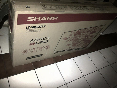 BNIB sharp led tv 50 inch full hd