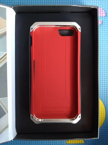 Element Case Solace iPhone 5 / 5S / 5SE - Stylish Red Edition Solo
