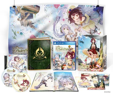 PS4 Atelier Sophie Limited Edition (Reg 1 USA)